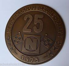 Plakette Badge Kühler Autoplakette --Neckermann-Jubiläums Rallye 1975--