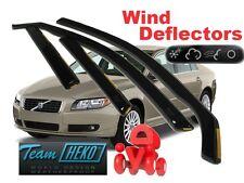 Wind deflectors VOLVO S80  4D 2009 -  SALOON / SEDAN   4.pc  HEKO  31254