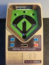 Mattel Baseball Pocket Electronic Handheld Vintage Game 1978 Complete