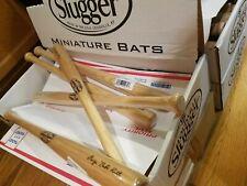"5 Louisville Slugger Mini Baseball Bats George ""Babe"" Ruth 18"" Souvenir Hardwood"