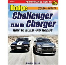 2006-Up Dodge Challenger and Charger: How to Build and Modify Manual Book SA340