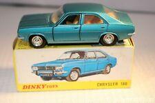Dinky Toys 1409 Chrysler 180 MIB all original condition