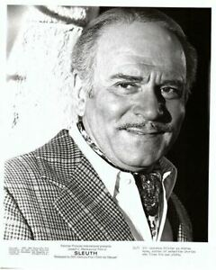 Laurence Olivier Slueth Classic Portrait Looking suave Original 8x10 Photo 1972