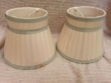 Laura Ashley Home 2 X Small Lamp shades (some Marks)
