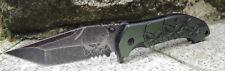 "MTech Ballistic Tanto Taschenmesser ""skull"" 440 Stahl Aluminiumgriff MTA903TQ"