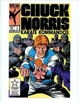 Chuck Norris #1, 1987 VF/NM, Star Comic Book