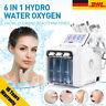 6 In 1 Hydra Dermabrasion Wasser Schälen Sauber Gesichtspflege H2-O2 Maschine