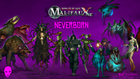 WYRD MINIATURES - MALIFAUX - NEVERBORN - VARIOUS CHARACTERS