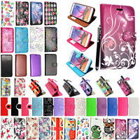 I Phone 7 & Samsung Galaxy S6,S7 Edge Wallet New Design Flip Leather Case Cover