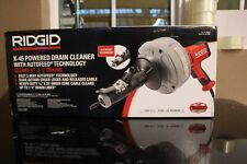 New listing Ridgid 35473 Hand-Held Drain Cleaner with Auto feed - Model K-45Af