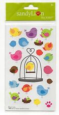 Sandylion Stickers, ADORABLE COLORFUL BIRDS, New & Sealed