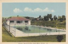 Piscine GRAND-MÈRE Swimming Pool Quebec Canada 1943 PECO Postcard 10