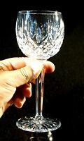 Beautiful Waterford Crystal Lismore Wine Hock.
