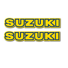 Suzuki RM PE 125 175 250 500 Gas Tank Decal Set (83-84) 68111-14400-64D
