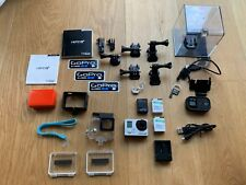 GoPro Hero 3+ Black Edition Actioncam - Silber/Schwarz & Zubehörpaket