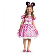 Disguise Disney Pink Minnie Mouse Classic Child Girls Halloween Costume 18921