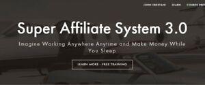 John Crestani Super Affiliate System 3.0 - Reg Price $997