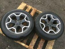 """13 14 15 Subaru Xv Crosstrek Alloy Wheel Rim & Tire 225/55 R17 17"""" Oem D31 2psc"""
