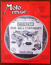 Moto Revue du 31/5/1952; Position des pilotes/ Rodage des soupapes/ 175 compétit