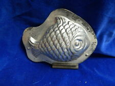 MOULE A CHOCOLAT ANCIEN / Old chocolate mold - POISSON / Fish