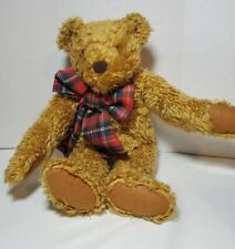 "Avon Mr Maxx The Snoring Bear 1996 Plush Stuffed Giggles Yawns Snores 18"" Shaggy"