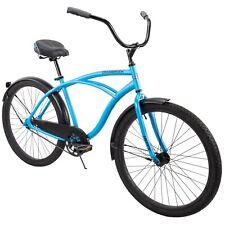 Men's Beach Cruiser Bike 26 Inch Perfect Fit Frame Aluminum Comfort Ride, Blue