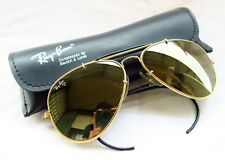 VINTAGE RAY BAN BL USA BAUSCH&LOMB AVIATOR OUTDOORSMAN 58mm DIAMOND HARD
