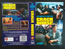 Crack House - Jim Brown - Anthony Geary - Used Video Sleeve/Cover #B4800