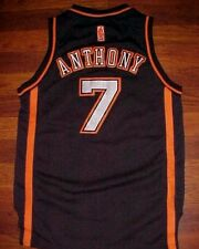 adidas NBA New York Knicks Carmelo Anthony 7 Boys Black Limited Edition Jersey M