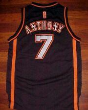 adidas NBA New York Knicks Carmelo Anthony 7 Boys Black Limited Edition Jersey M