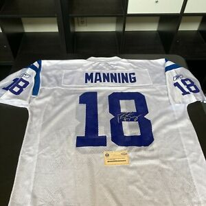 Peyton Manning Signed Super Bowl XLI Indianapolis Colts Game Jersey Steiner COA