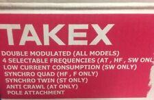 Barriera Infrarossi Per Interno ed esterno TAKEX PULTEX 50mt Con Disqualifica.