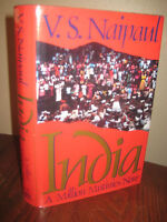 INDIA V.S. Naipaul NOBEL PRIZE 1st Edition First Printing HISTORY Asia Religion