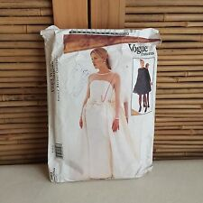VOGUE Bridal ORIGINAL Vera Wang 1583 Wedding DRESS Overskirt SEWING Pattern 8,10