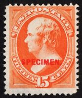 "US # 189s TYPE D *MINT NGAI* { ""SCARCE SPECIMEN OVERPRINT } 15c WEBSTER OF 1889"