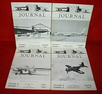 Lot 4 American Aviation Historical Society Journals From The Year 1963