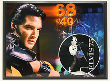 ELVIS PRESLEY Limited Edition Picture Disc Poster Art Display Free Shipping