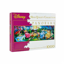 CLEMENTONI Puzzle panorama DISNEY Swinging Princess 1000 pièces ss blister neuf