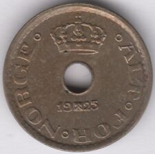 More details for 1925 norway 10 ore   european coins   pennies2pounds