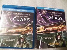 Glass Bu-ray Dvd combo Bruce Willis Samuel L. Jackson action adventure fantasy