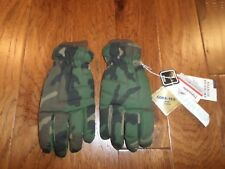 Woodland Camouflage Gore-Tex Thinsulated Winter Gloves Water Resistant