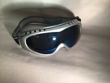 Silver Nice Youth KIDS Snowboarding Skiing GOGGLES Sunglasses Anti Fog Frame ATV