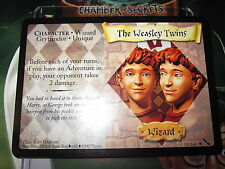 HARRY POTTER TCG CARD CHAMBER OF SECRETS THE WEASLEY TWINS 53/140 RARE MINT EN