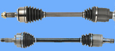 2 CV Axle Shafts Complete Assembly Front L&R For Honda Accord Crosstour