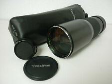 Tokina rmc 400mm 1:5.6-teleobjetivo, lens for-para Canon FD (por ejemplo, canon a-1)