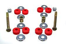 Energy Suspension 5.8105R End Link Bushing Set Front Polyurethane Red