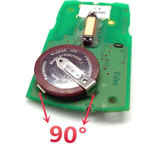 Panasonic VL2020 Battery for BMW Car Diamond Key Fob E46 E39 E38 3 5 7 series 90