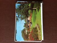 A4e  postcard used mundesley the gardens 1976