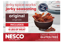Beef Jerky Original Flavor Seasoning Spice Mix Cure Dehydrator Sticks Gun Nesco