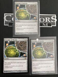 MTG Magic - Crucible of Worlds X3- Tenth Edition NM